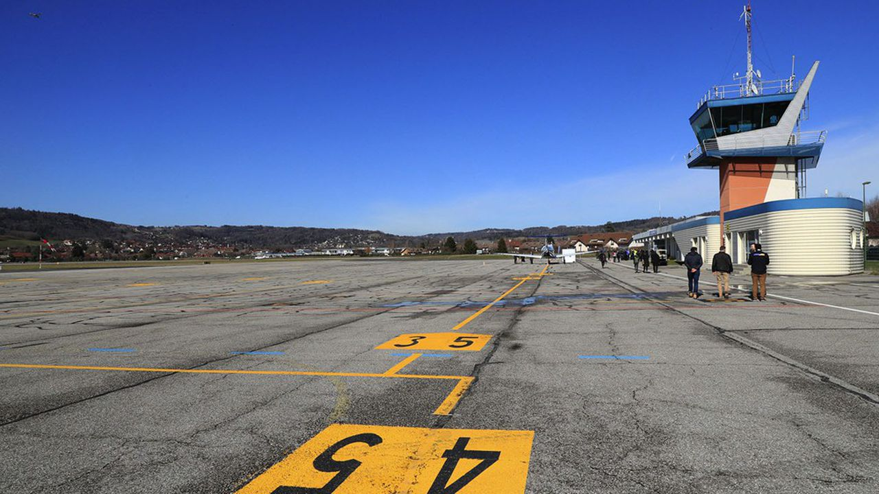 Vinci Airports reprend la gestion de l'aéroport d'Annecy-Mont-Blanc.