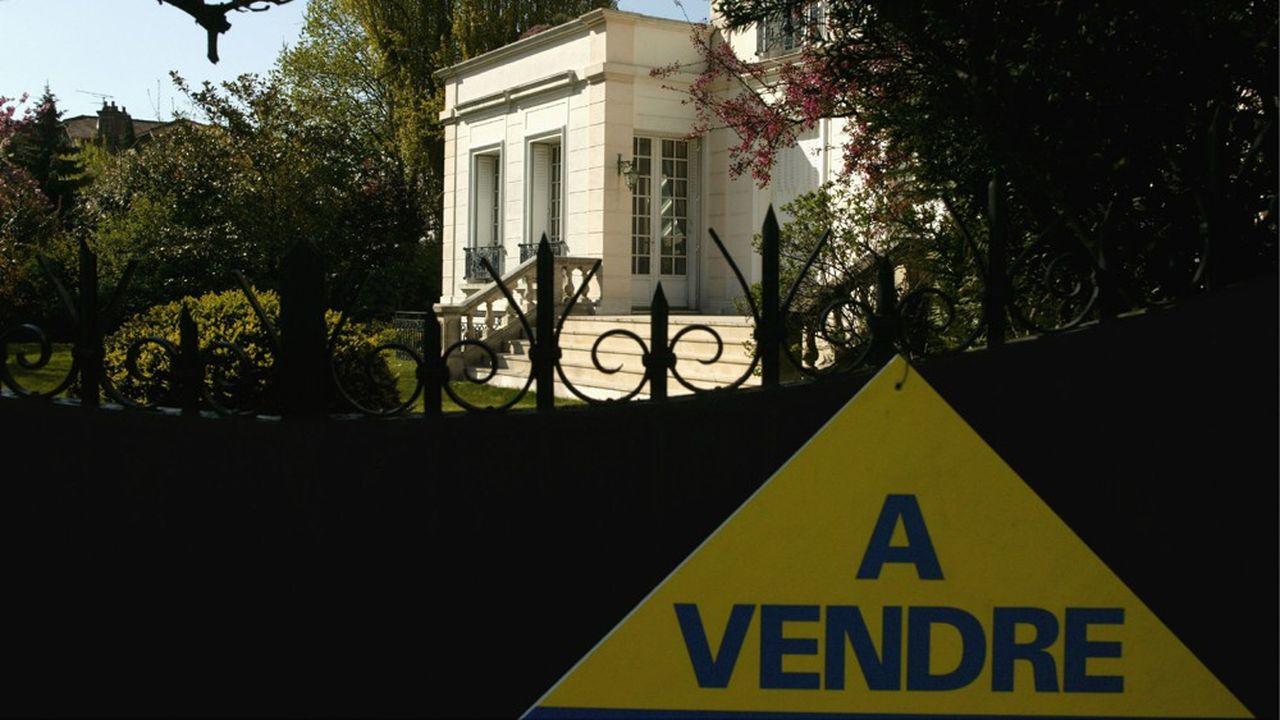La hausse des prix des maisons en Ile-de-France (ici à Enghien-les-Bains) va continuer à s'accélérer.