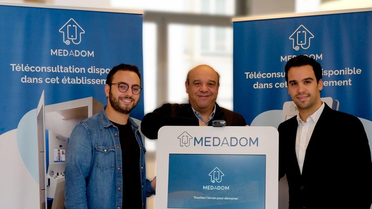 Fondé en 2017, Medadom veut déployer 25.000bornes médicales connectées d'ici à 2025.