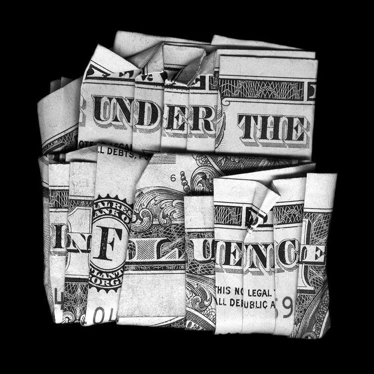 « Under the Influence » de l'artiste américain D-TAG, extrait de la série « Cash America ».