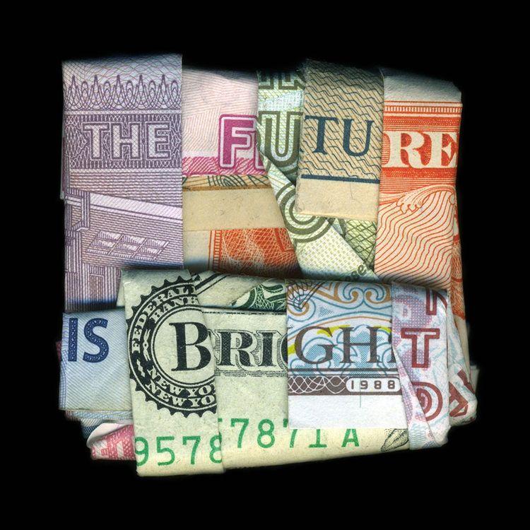 « The Future is Bright » de l'artiste américain D-TAG, extrait de la série « Beau Monde ».