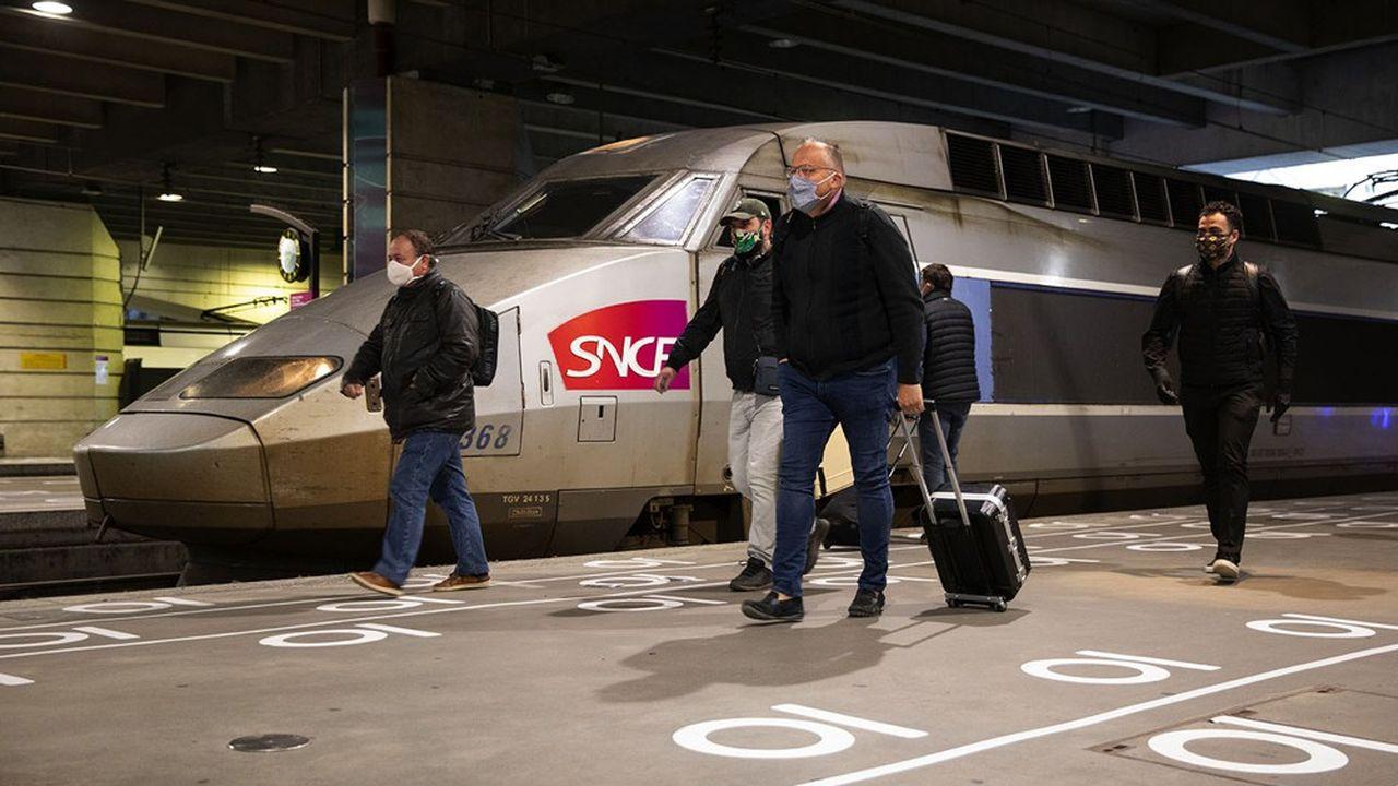 Les destinations les plus demandées au départ de Paris, depuis l'assouplissement du confinement, sont Lyon, Marseille et Bordeaux.