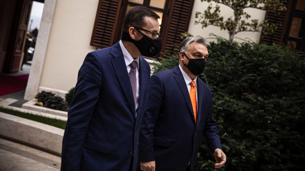 Budapest et Varsovie se confortent dans leur veto au budget européen — UE