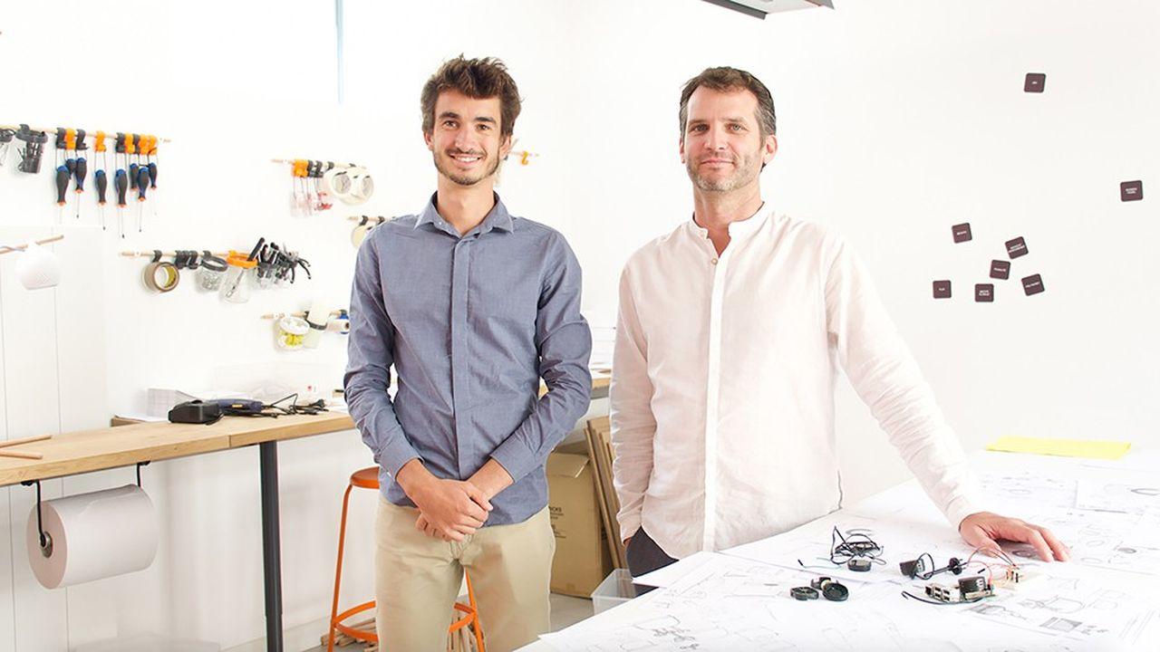 Charlie Rousset (à gauche) et Guillaume Barathon, les deux fondateurs de Morphée.