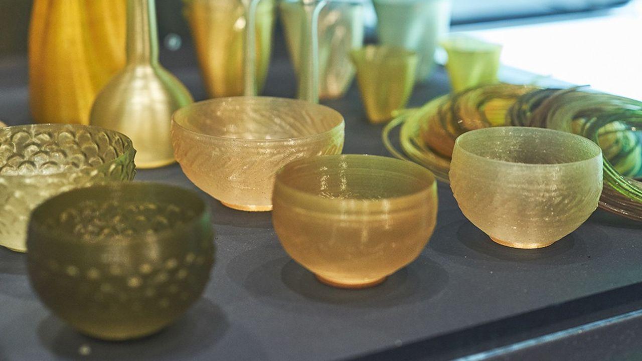 Le Labo Algues de l'Atelier Luma réalise des objets imprimés en 3D à partir de microalgues et de biopolymères.