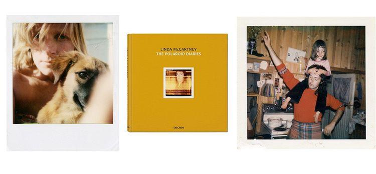 « The Polaroïd Diaries », de Linda McCartney, éditions Taschen (2019). Pour Stella, sa fille, c'est l'album souvenir d'une enfance heureuse et bohème.©Photo by Linda McCartney/Paul McCartney