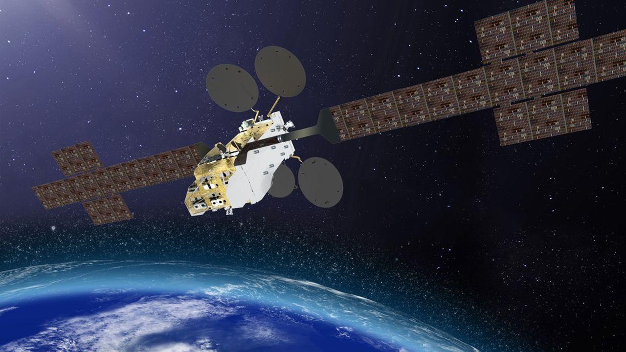 Les satellites géostationnaires, à 36.000km de la surface, permettent de fournir du très haut débit aux exclus de la fibre