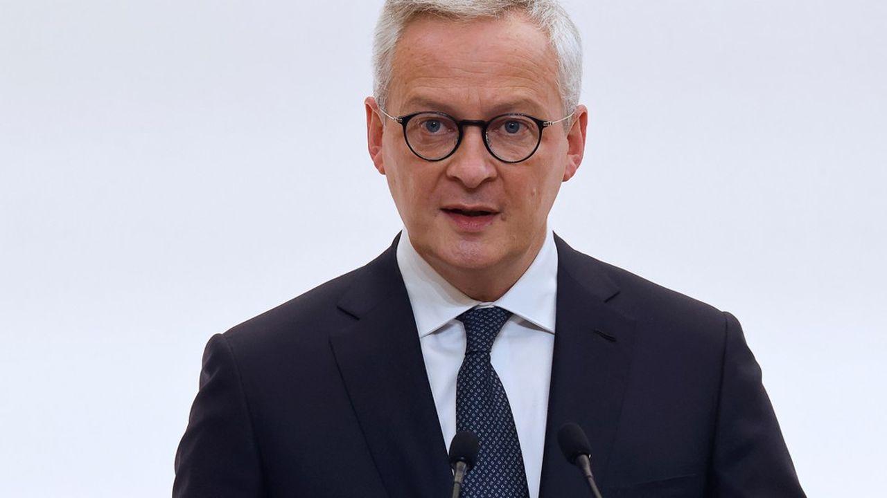 Le ministre de l'Economie, Bruno Le Maire, met l'accent sur le fléchage de l'épargne vers les fonds propres des entreprises.