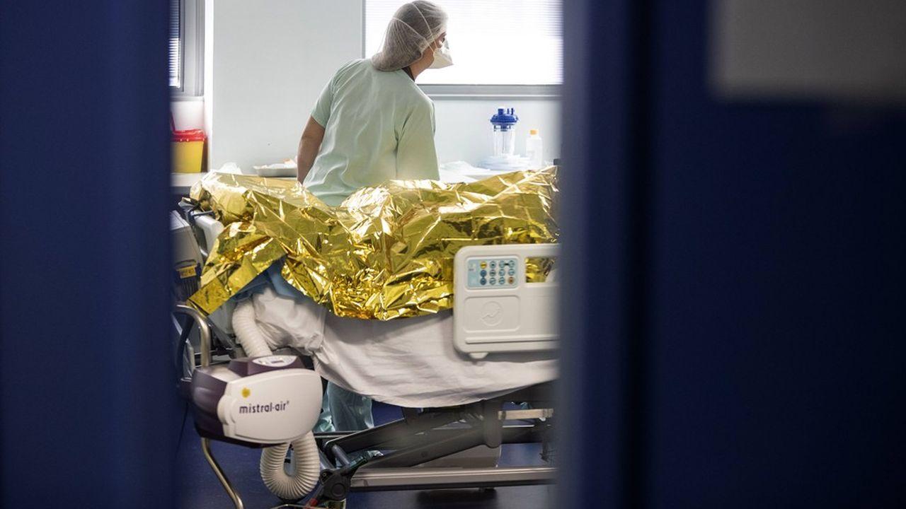 Un pic de mortalité a été atteint en France le 7novembre avec 2.281 décès survenus ce jour-là, selon des chiffres publiés vendredi par l'Insee.