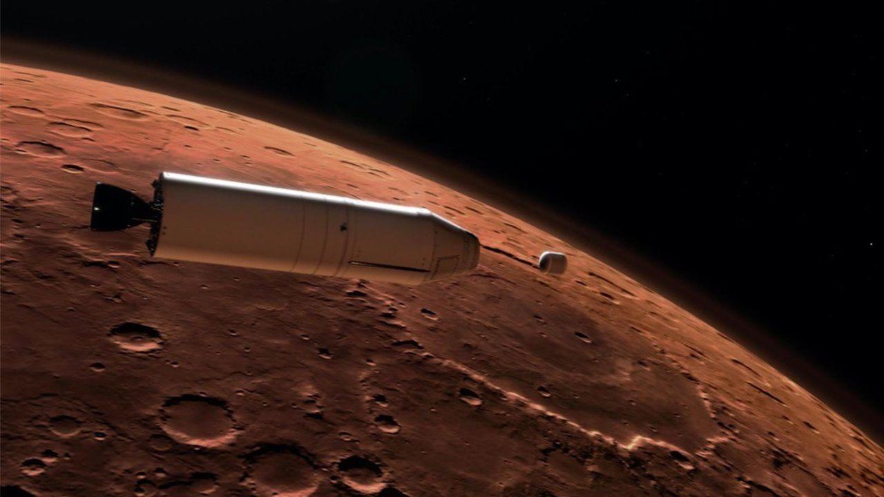 La mission Mars2020 de la Nasa prévoit une méthode de récupération des échantillons inédite.