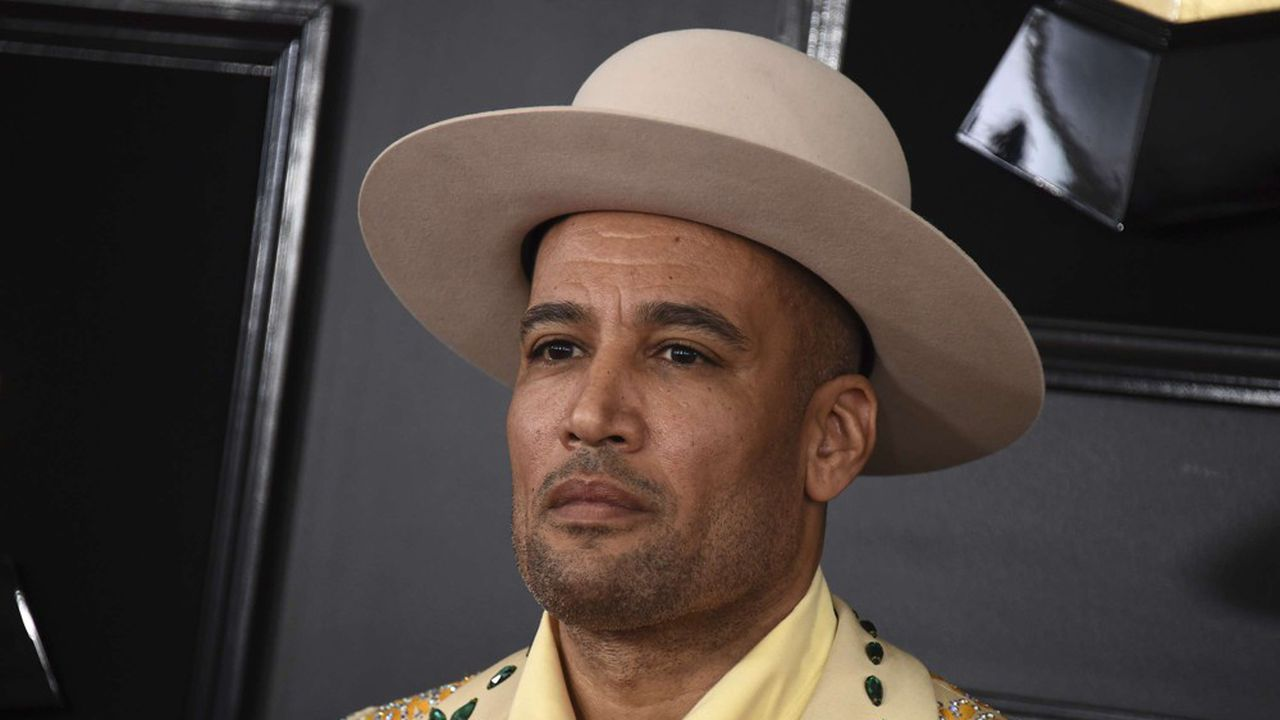 Ben Harper lors de la 61e édition des Grammy Awards à Los Angeles, en 2019.
