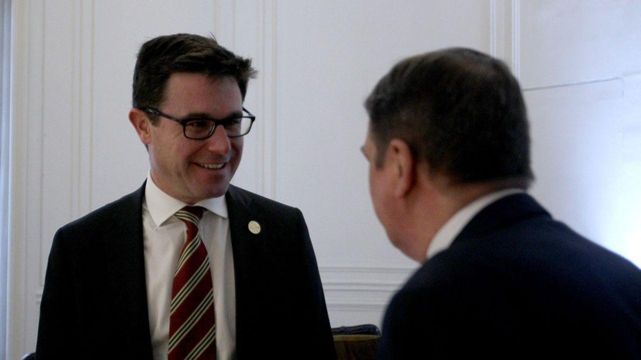 Le ministre australien de l'Agriculture, David Littleproud