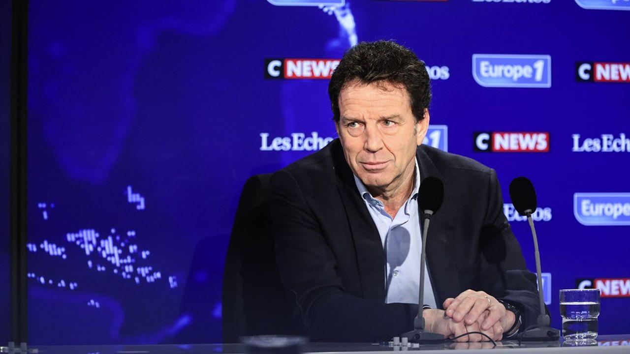 Le président du Medef, Geoffroy Roux de Bézieux, était dimanche l'invité du Grand Rendez-vous Europe 1-CNews- «Les Echos».