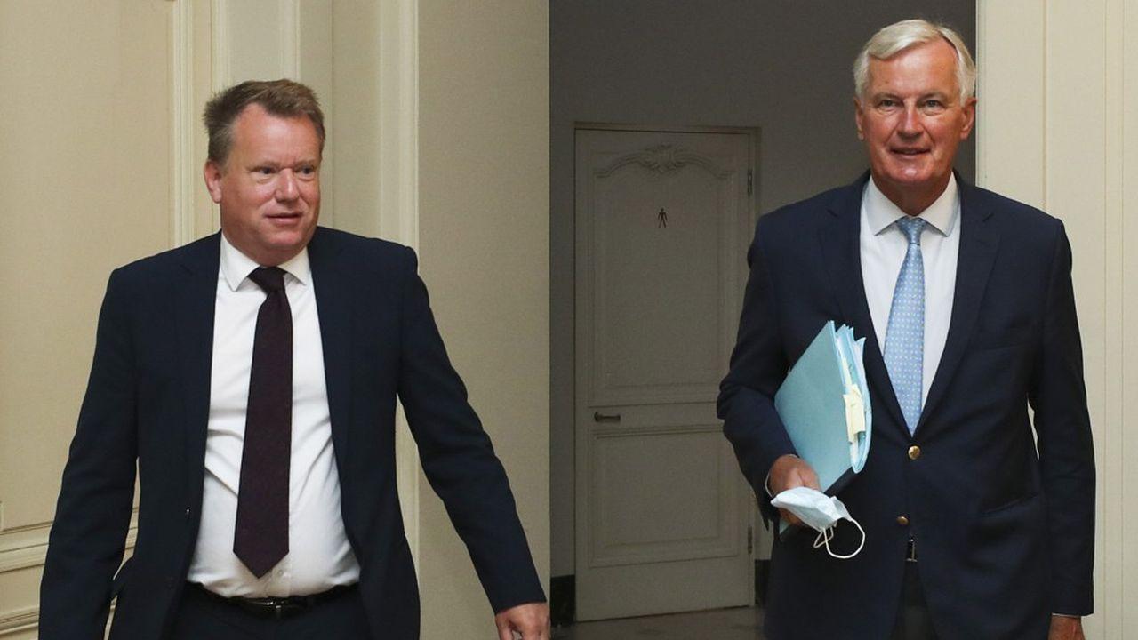Pour David Frost comme pour Michel Barnier, les deux négociateurs en chef, pas question de reconnaître tout à fait l'urgence.