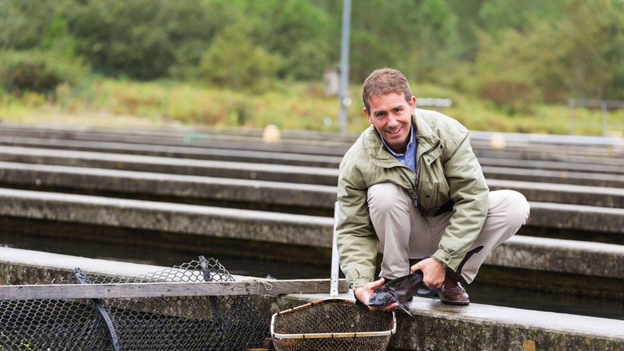 Dirigée par Michel Berthommier, la ferme piscicole L'Esturgeonnière emploie une vingtaine de salariés et produit 4 tonnes de caviar par an sous la marque Caviar Perlita.