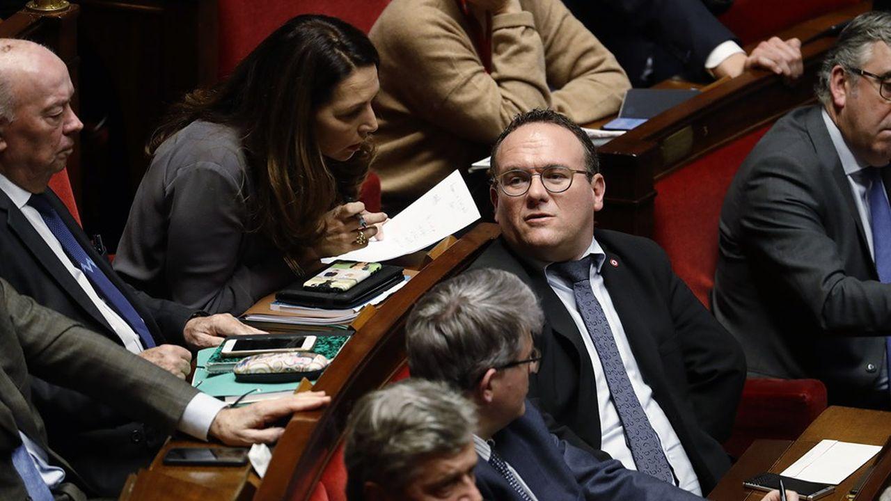 Elu de l'Ain, Damien Abad préside le groupe LR à l'Assemblée.
