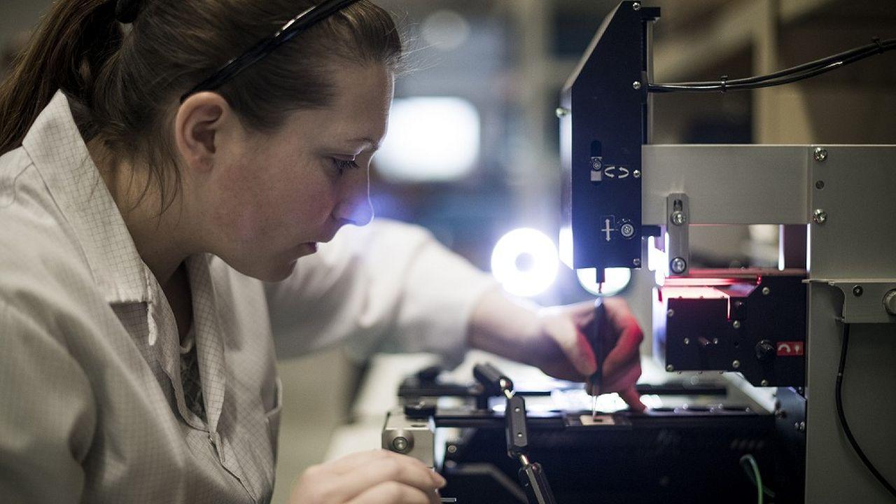 Le site de Rosheim (Bas-Rhin) compte une vingtaine de collaborateurs à la production.