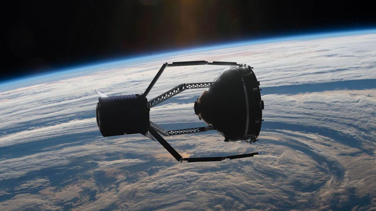 Vespa, un morceau de fusée Vega lourd de 112kg, tourne au-dessus de nos têtes à quelque 801km de la Terre.