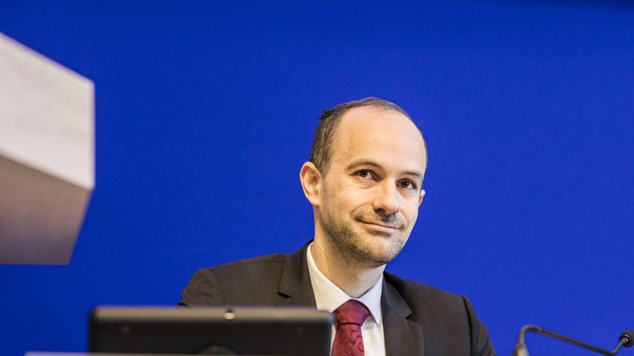 Yann Gaël-Amghar, directeur de l'Acoss, Agence centrale des organismes de sécurité sociale, a présenté ce mardi un bilan d'étape des mesures exceptionnelles face au Covid.