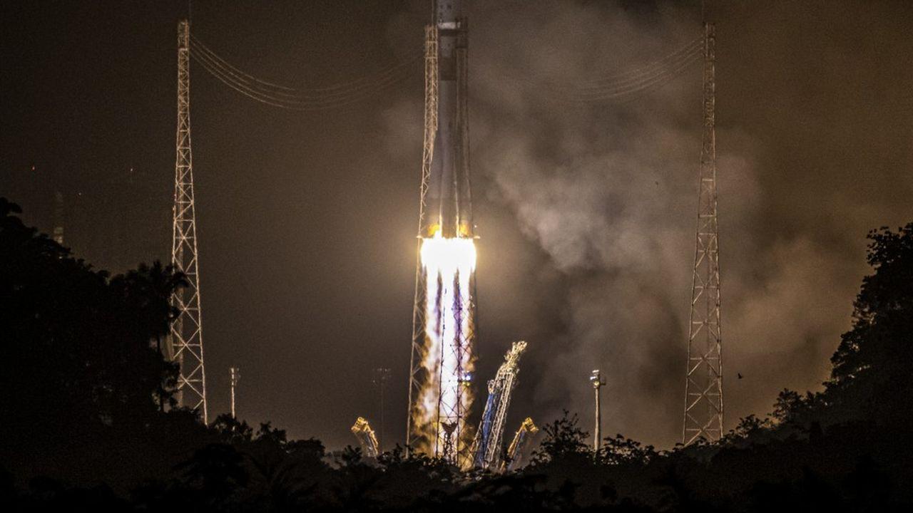 Il s'agissait du 31e lancement opéré par Arianespace pour un client du Moyen-Orient.
