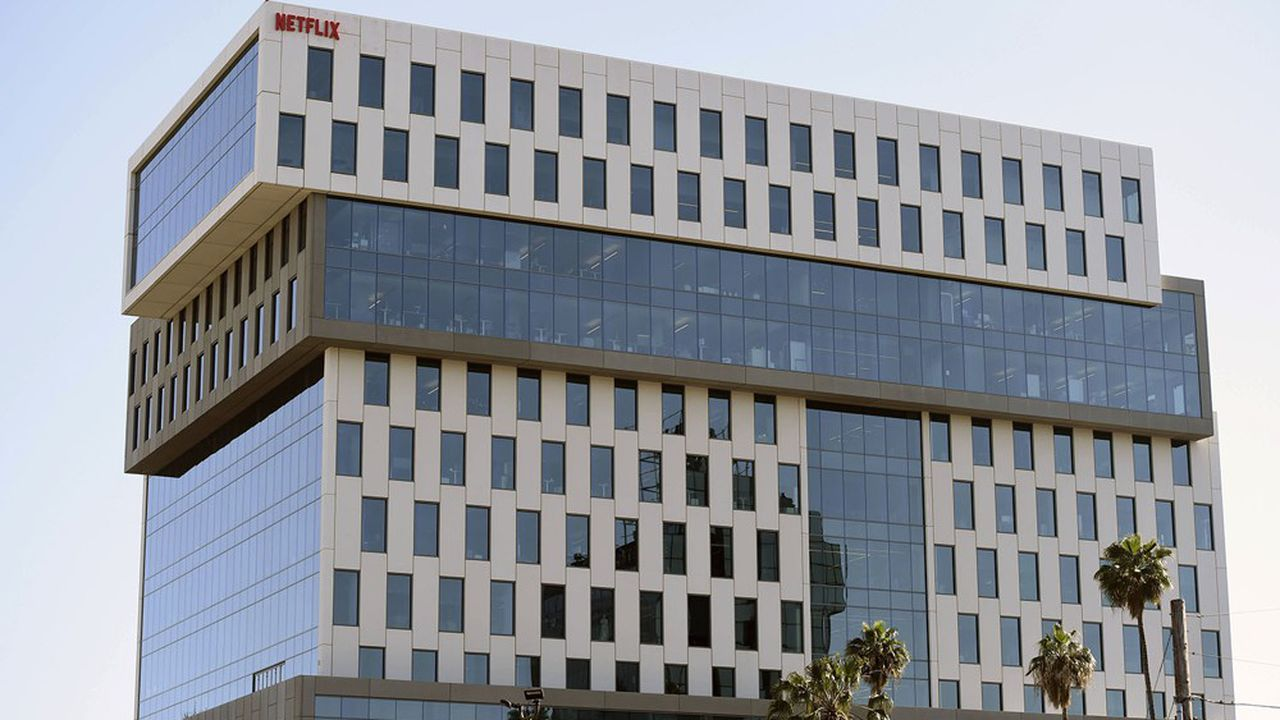 Le siège social de Netflix, section Hollywood, à Los Angeles.