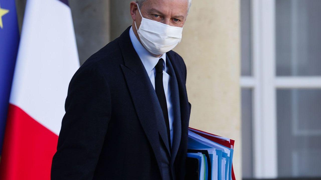 «C'est le geste minimal que je demande (aux assureurs), qu'ils gèlent les primes d'assurance», pour les hôtels, cafés et restaurants, a déclaré le ministre de l'Economie, Bruno Le Maire.