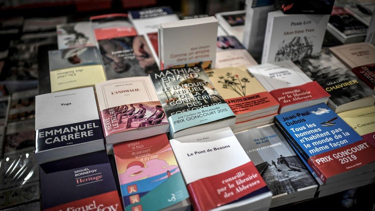 En moyenne, un prix Goncourt s'est vendu à 319.000 exemplaires ces dernières années.