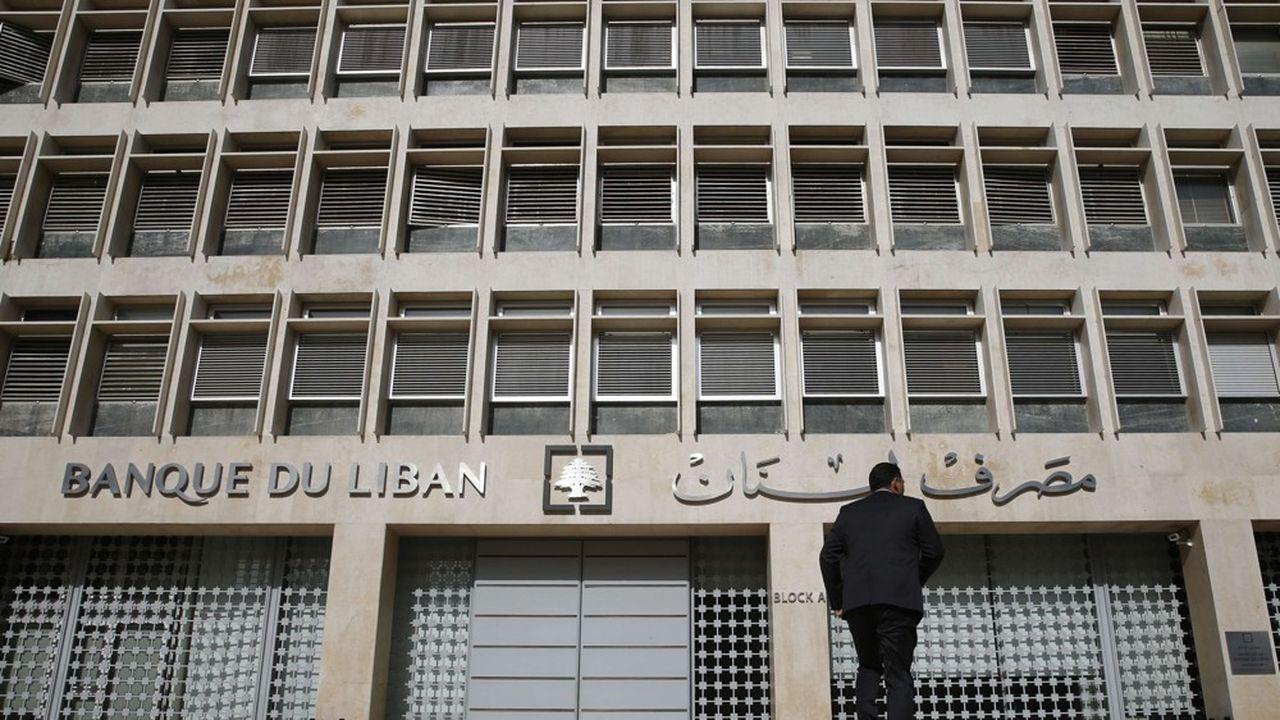 La Banque centrale du Liban.