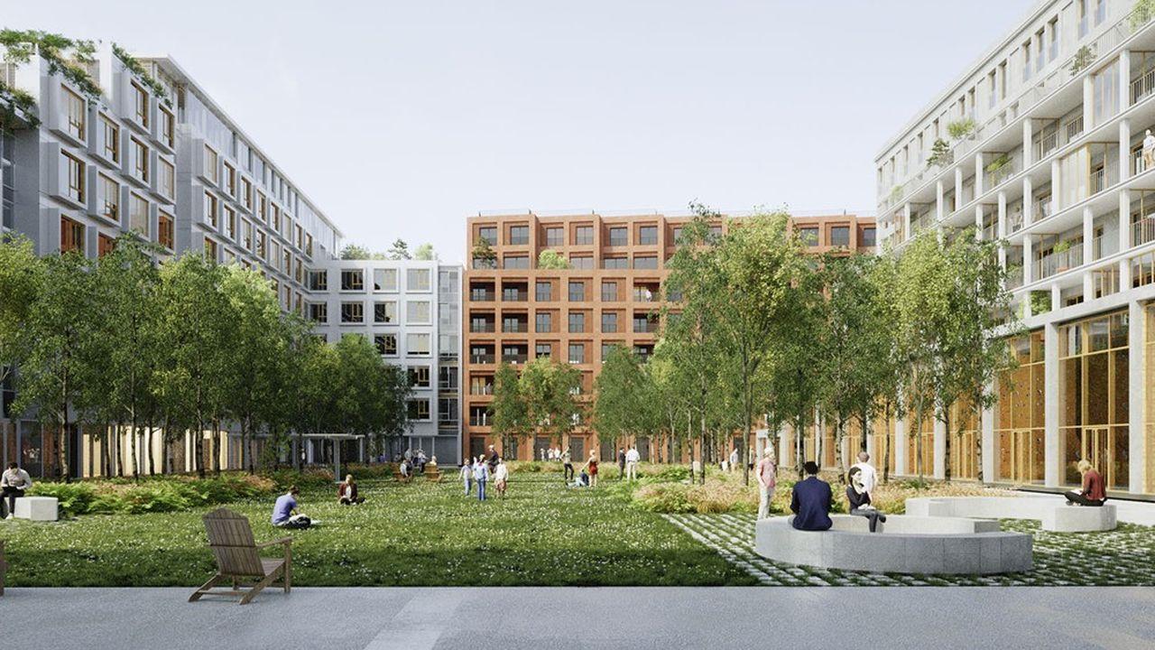 Des logements au-dessus du plus gros dépôt de bus de Paris