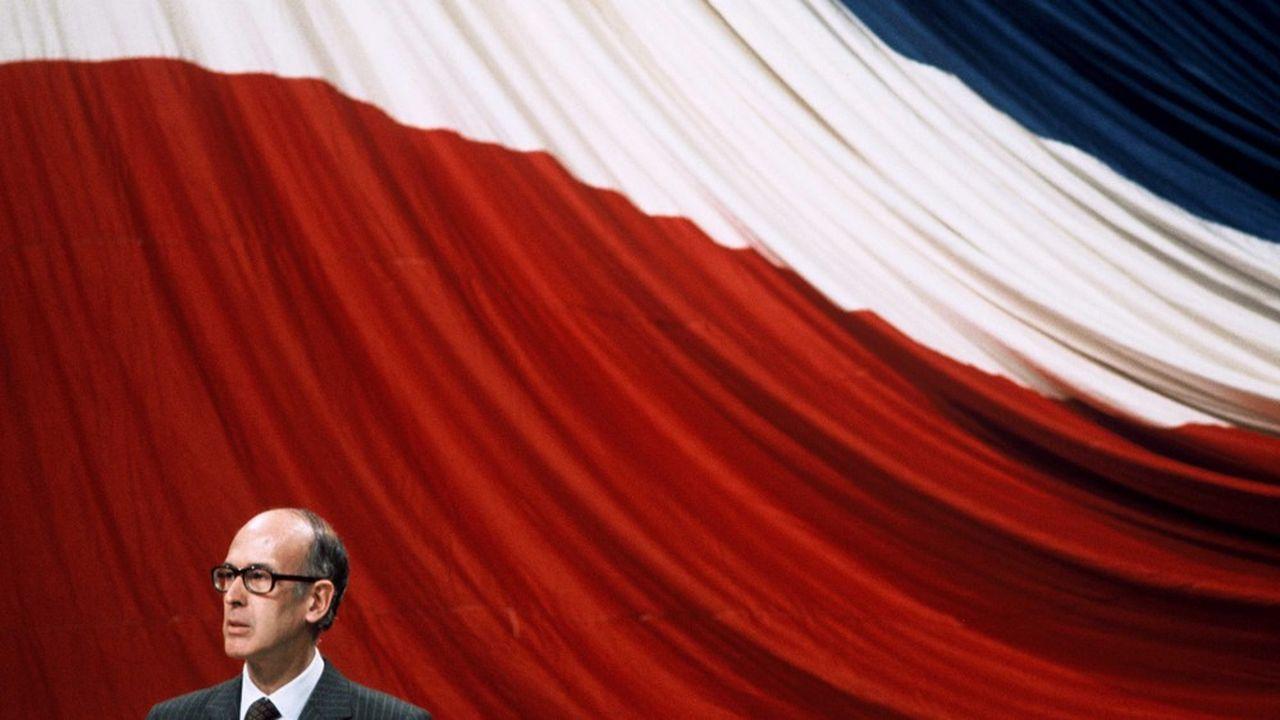 Valéry Giscard d'Estaing, ici en 1976, aura vu ses réformes économiques contrecarrées par le double choc pétrolier.