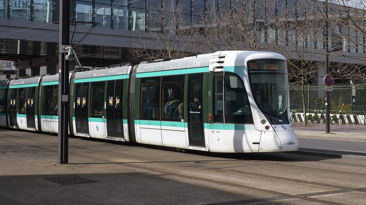 La mise en service du Tram 13 Express aura lieu en 2022.