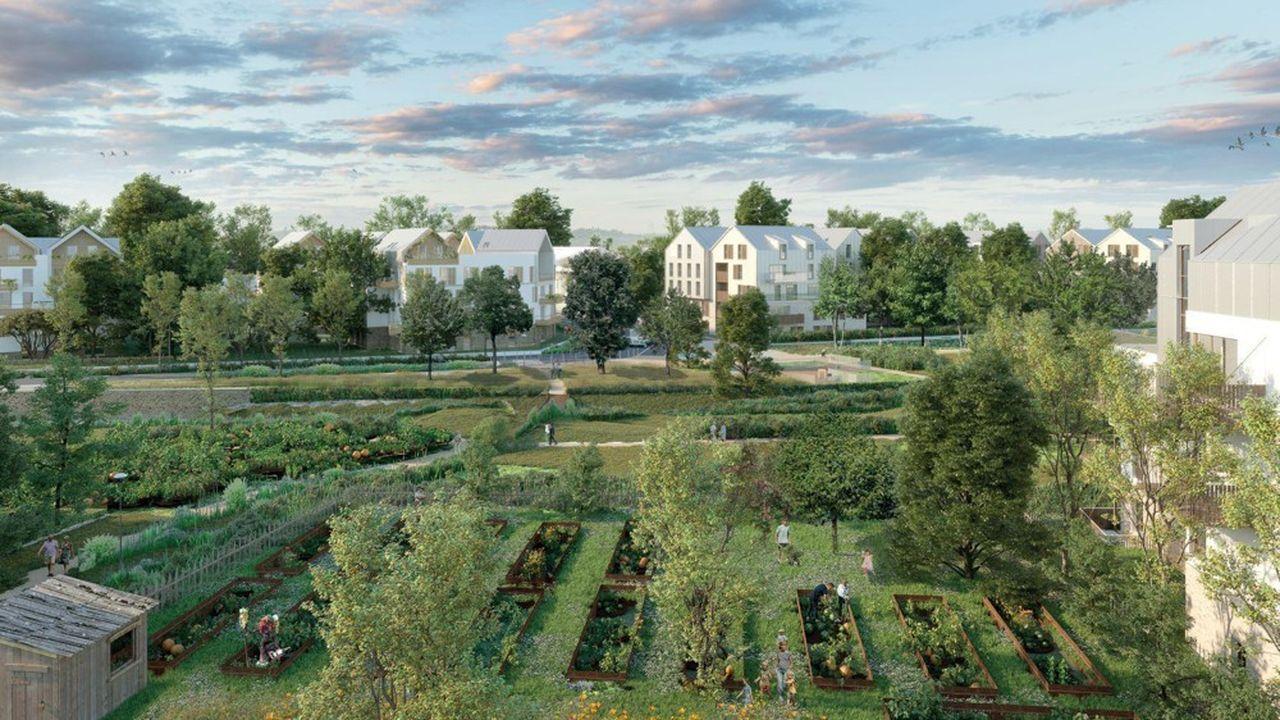 A Voisins-le-Bretonneux, l'édile prévoit d'accorder une trentaine de logements en BRS sur le futur écoquartier de La Remise