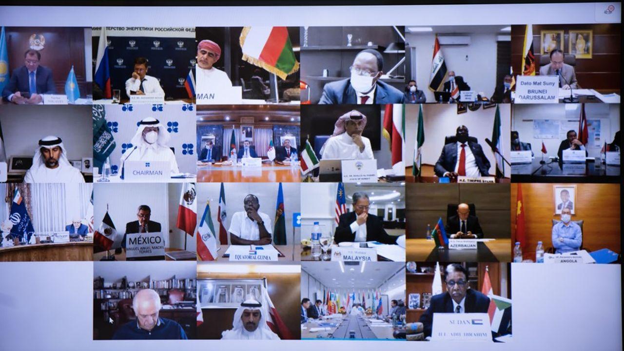 Des dissensions inhabituelles sont apparues au sein de l'Opep. Les Emirats arabes unis ont poussé pour un relâchement des quotas, s'opposant à leur traditionnel allié saoudien.