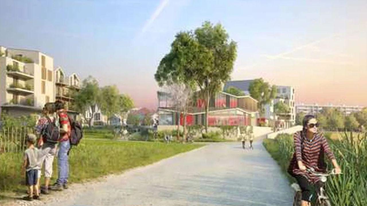 L'Agroquartier de la plaine de Montjean à Rungis fait partie des quartiers soutenus par la Région