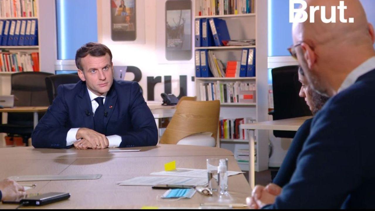 Le récap de l'interview d'Emmanuel Macron en 10 tweets