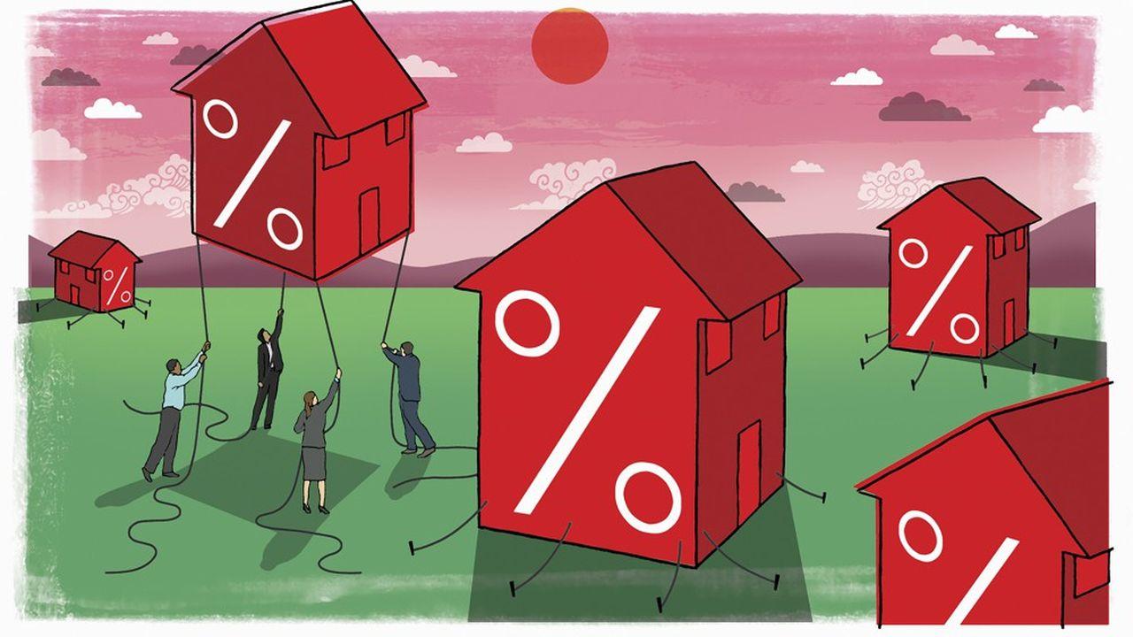 Selon le courtier Vousfinancer, on peut emprunter en moyenne à 1,05 % sur 15 ans, 1,25 % sur 20 ans et 1,45 % sur 25 ans.