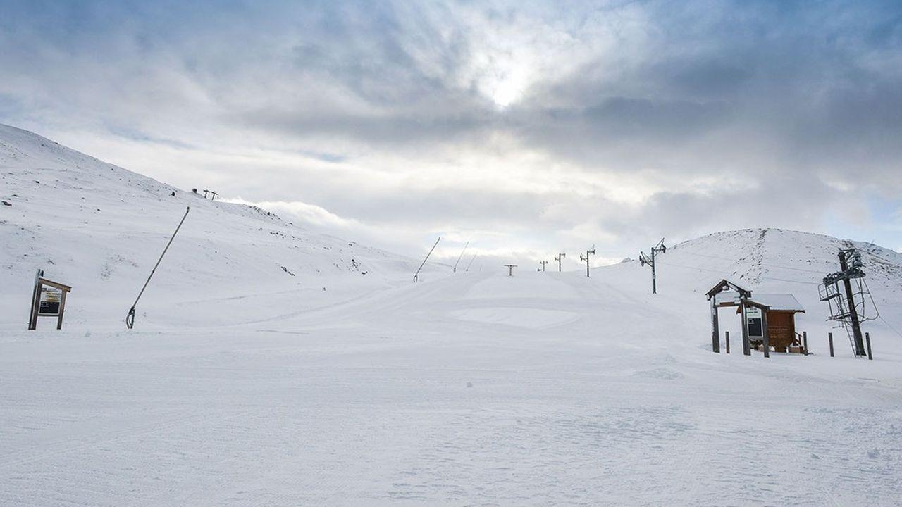 Domaine skiable de Valloire, en Savoie.