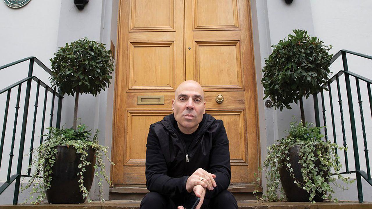Merck Mercuriadis devant les studios Abbey Road. Le fondateur d'Hipgnosis met en avant sa proximité avec les artistes qu'il a managés pendant trente-cinqans.