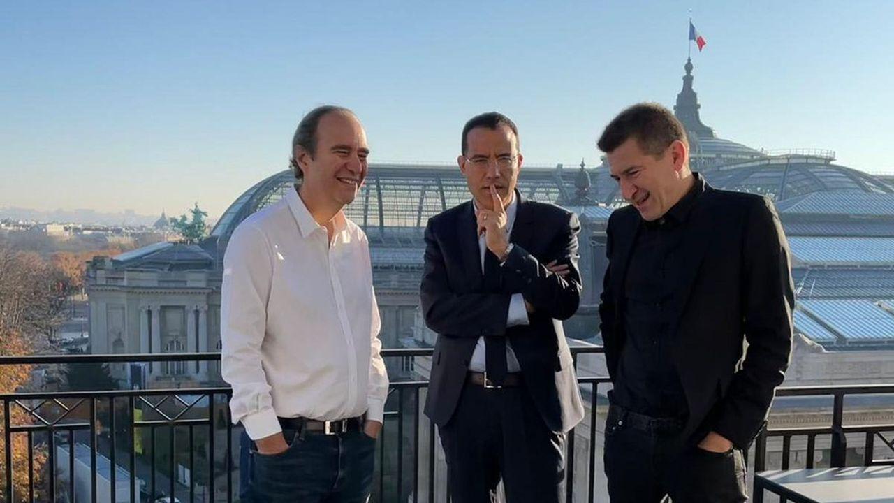 Le trio formé par Xavier Niel, Moez-Alexandre Zouari et Matthieu Pigasse a réussi à convaincre les investisseurs.