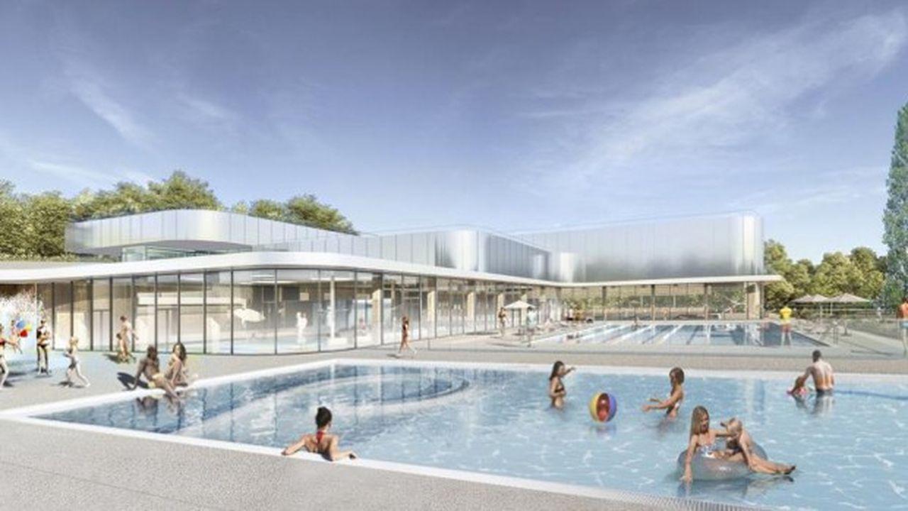 Ce nouveau complexe de 4.600 m2 est destiné à remplacer l'actuelle piscine, ouverte il y a presque 50 ans.