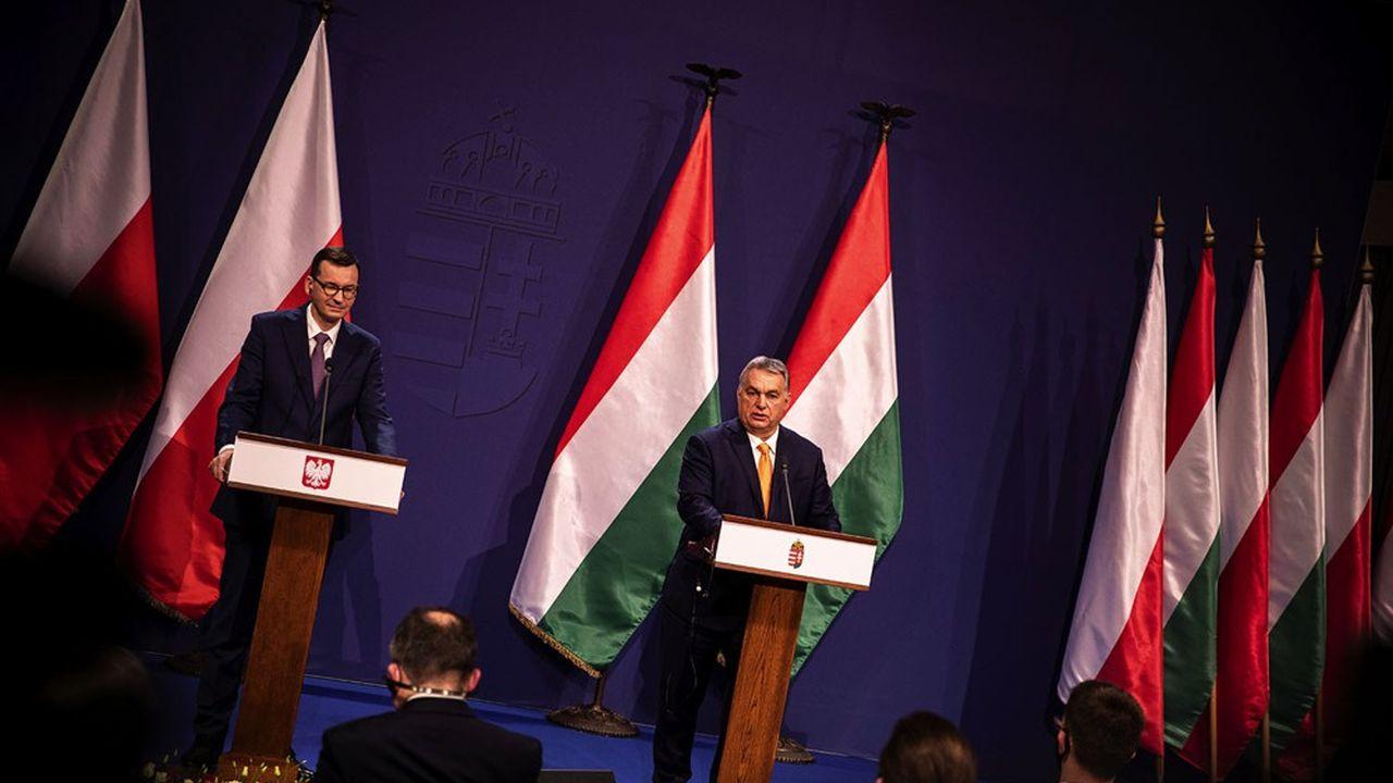 Mateusz Morawiecki et Viktor Orban bloquent depuis plusieurs semaines le plan de relance européen.