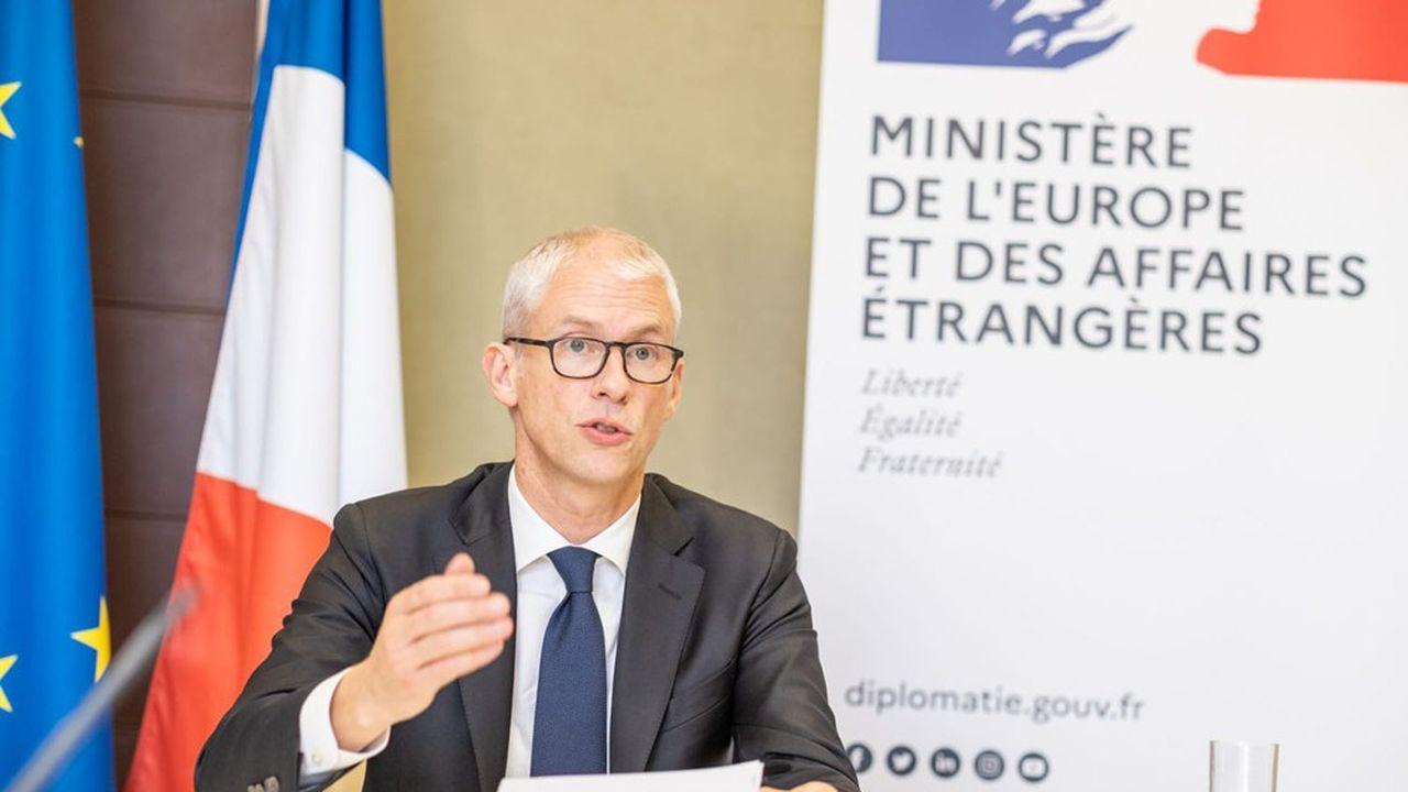 Franck Riester, ministre chargé du Commerce extérieur et de l'Attractivité