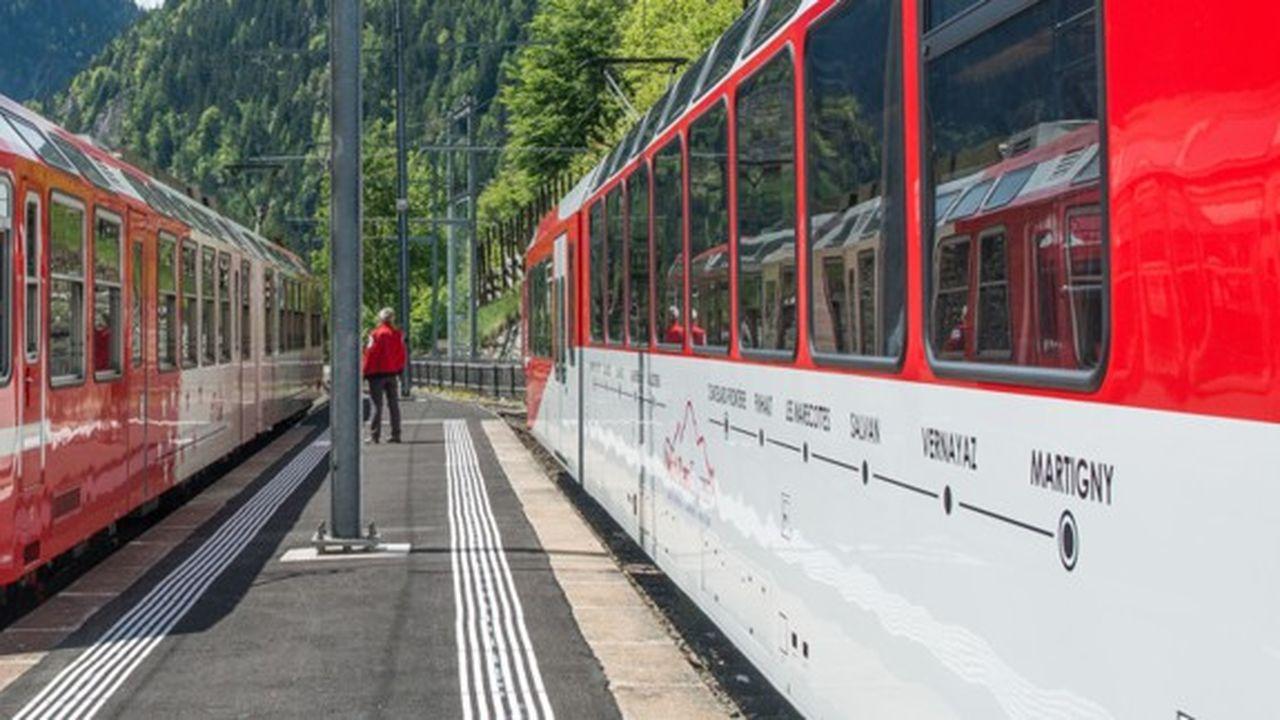 Le Mont-Blanc Express a démarré son exploitation en 1906.
