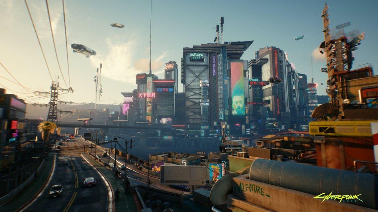Le jeu se déroule dans une ville dystopique, Night City, gangrenée par le crime, où le sexe et les implants cybernétiques jouent un rôle majeur.