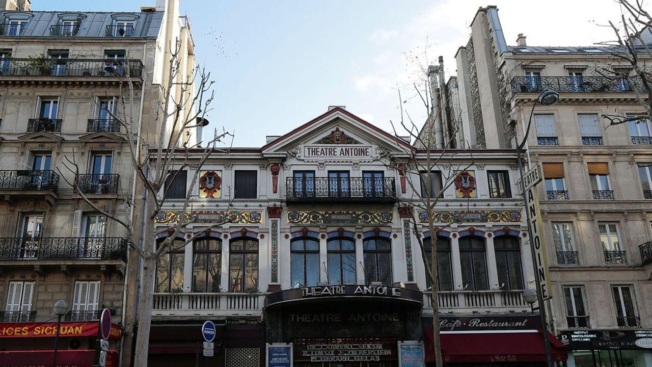 Au Théâtre Antoine, comme dans beaucoup d'autres salles, les réservations de billets ont chuté dans ce climat de grande incertitude