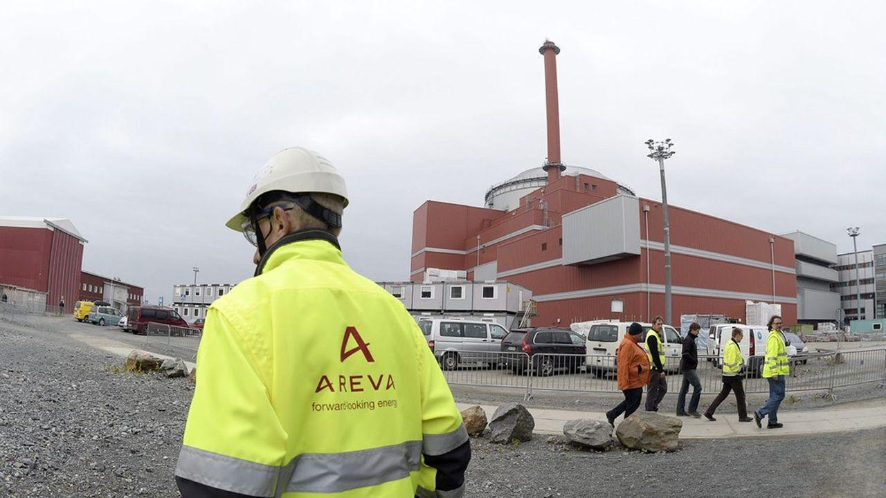 Areva SA est l'ancien holding du champion du nucléaire devenu sa structure de défaisance chargée d'achever la construction du réacteur EPR vendu au finlandais TVO.