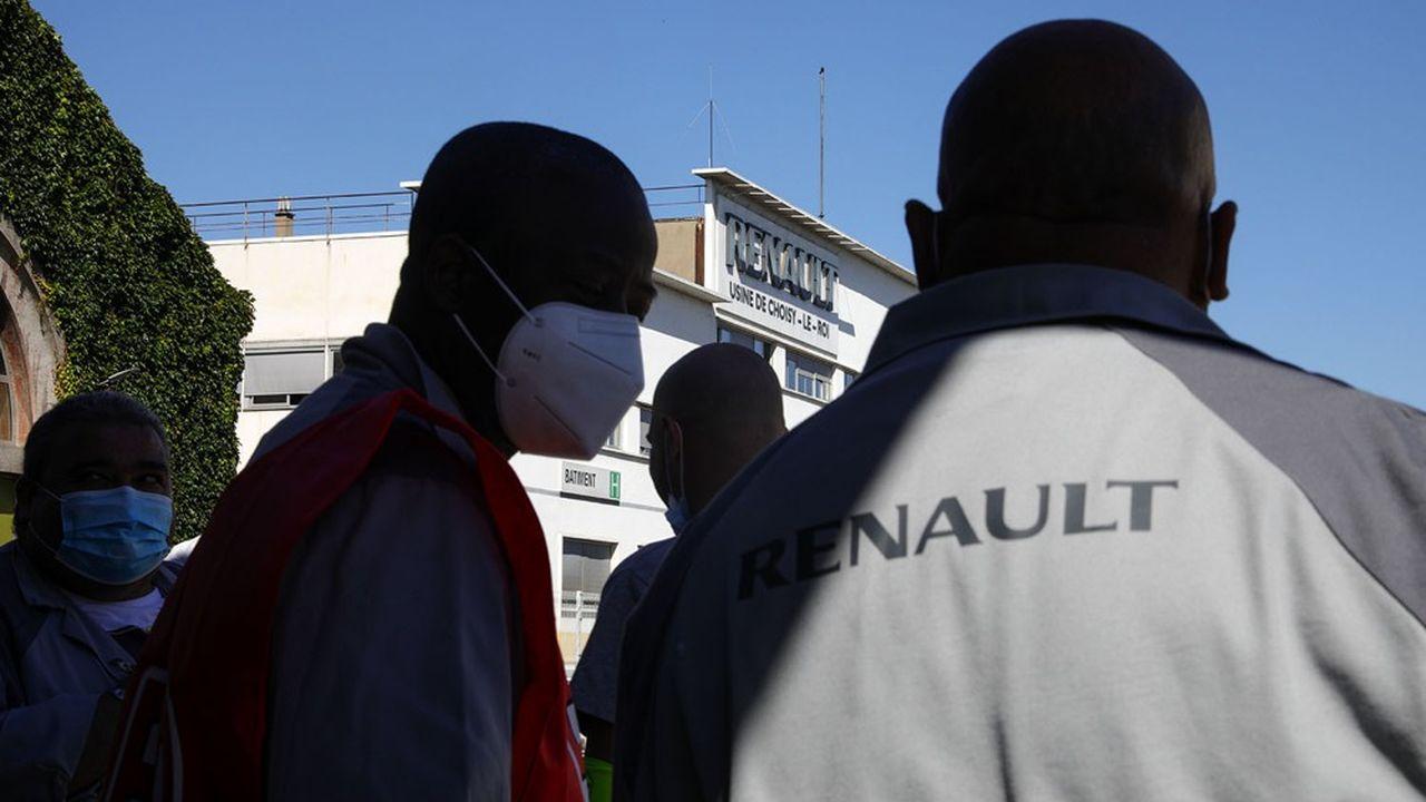 Fin mai et durant tout l'été, les salariés de Renault de Choisy-le-Roi ont multiplié les piquets de grève.