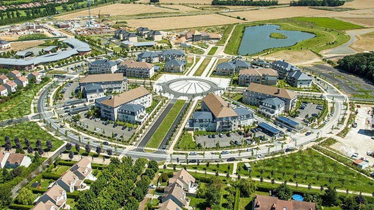 Quelque 1.270 logements doivent voir le jour sur la petite commune de Saint-Pierre du Perray.