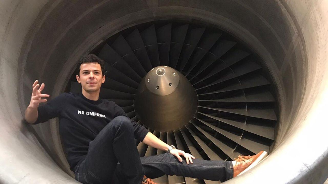 Giorgio Soggiu, 24 ans, qui a fait ses armes chez Safran, est désormais en VIE chez Air Liquide.