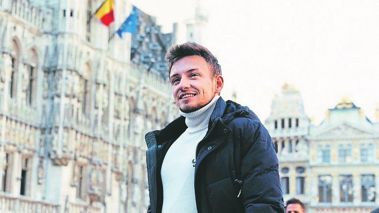 Vadim Kosterev, 24 ans, vient de trouver un job de business developer en alternance.